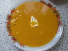 Kürbissuppe mit Äpfel und Birnen - Rezept