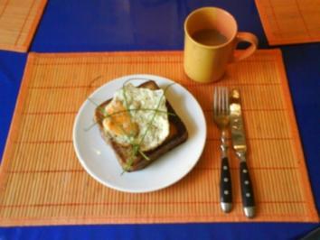 Frühstück: Croque-Madame(Französischer Toast) - Rezept