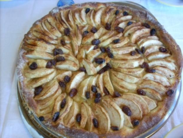 Oma Liesel's altdeutscher Zwetschgen,-u. Apfelkuchen - Rezept - Bild Nr. 2