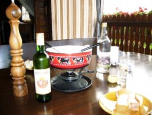 Hutzlemer Käsefondue - Rezept