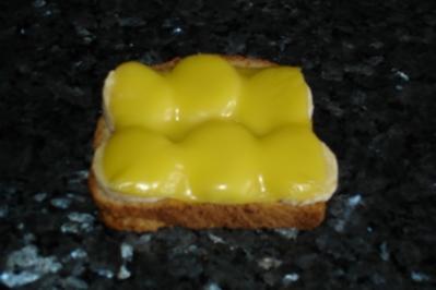 Pikanter Bananen-Toast; Fingerfood, Snack - Rezept
