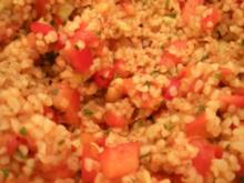 """SALAT- """"Roter Bulgur- Salat"""" - Rezept"""
