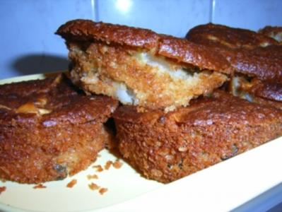 Muffins: Apfel-Kokos-Haferflöcken-Törtchen - Rezept
