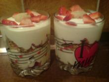 """Dessert """"Erdbeer-Vanille-Dessert"""" - Rezept"""