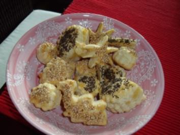 Fingerfood - Blätterteig-Käsegebäck - Rezept