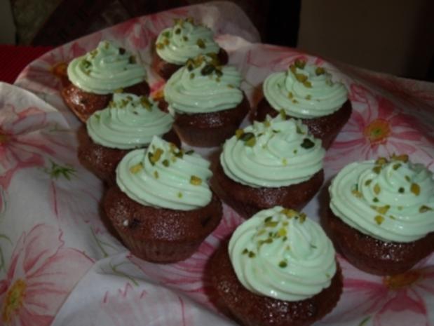 Grundrezept - Cupcakes mit Topping - Rezept
