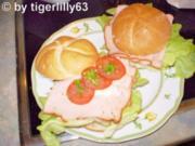 Bayerischer Burger - Rezept