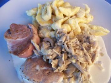 schwäbche-sächsche-französche Spätzle - Rezept