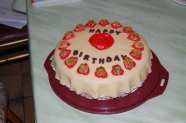 Marzipan - Sahne - Torte - Rezept - Bild Nr. 3