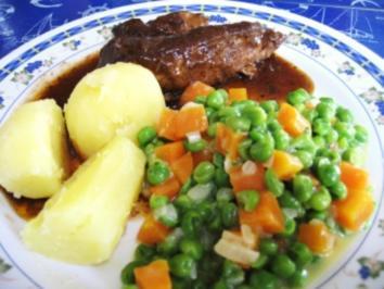 Erbsen und Möhrchen Gemüse - jeder kennt es, ... - Rezept