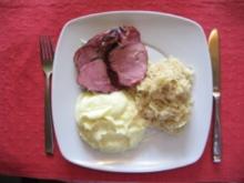 Kassler mit Sauerkraut - Rezept