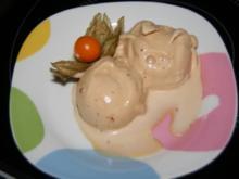 Eis: Amarettini - Eis - Rezept