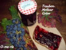 Eingemachtes  Trauben-Melisse-Gelee - Rezept
