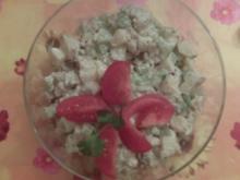 Wasabi Gurken Kartoffelsalat - Rezept