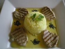 Schweine Filet in Kürbis Sauce - Rezept