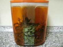 Pfefferminztee  aus dem eigenen Garten - Rezept