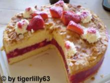 Erdbeer-Biskuit-Torte - Rezept