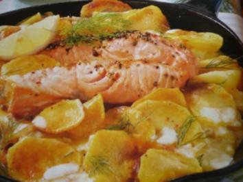 Lachs mit Sahne - Kartoffeln - Rezept - Bild Nr. 2