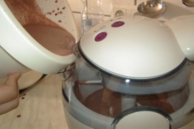 Schokoladen-Eiscreme - Rezept - Bild Nr. 4
