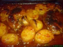 Hähnchen im Ofen - Rezept