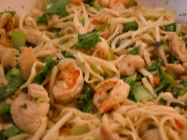 Chicken-Shrimp-Wok - Rezept - Bild Nr. 2