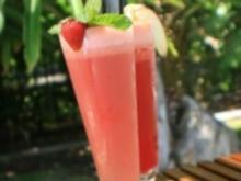 Erdbeer - Milchshake - Rezept