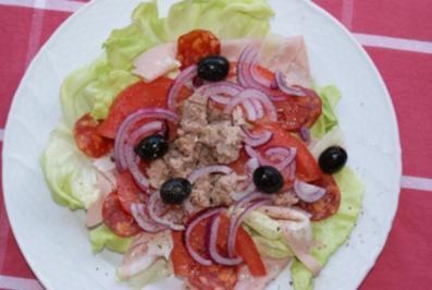 Spanischer Salat  ( Ensalada cataluna ) - Rezept