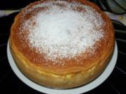 Saftiger Birnenkuchen mit köstlichem Guss - Rezept