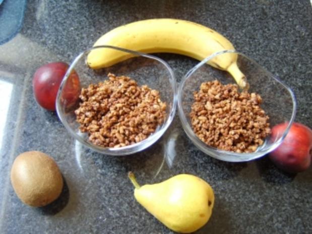 Cookie's Knusper-Müsli - Rezept