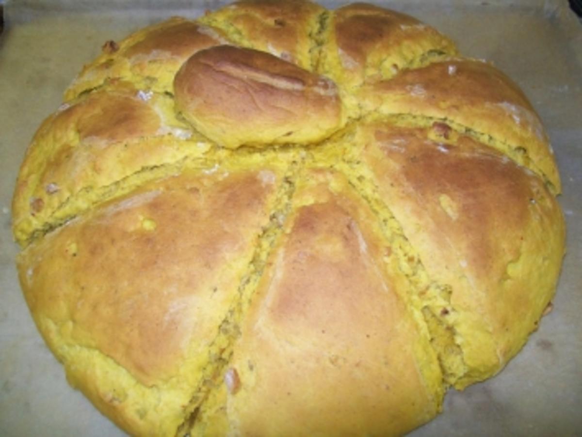 Kürbis-Walnuss-Brot - Rezept Gesendet von Bine69