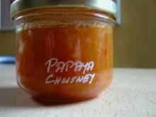 Papaya Chutney - Rezept