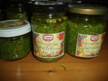 Ruccola - Basilikum - Pesto - Rezept