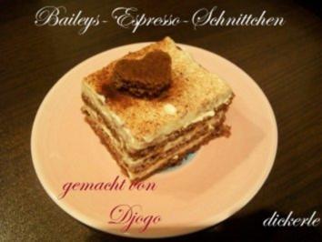 Kuchen + Torten : Baileys-Espresso-Schnittchen - Rezept
