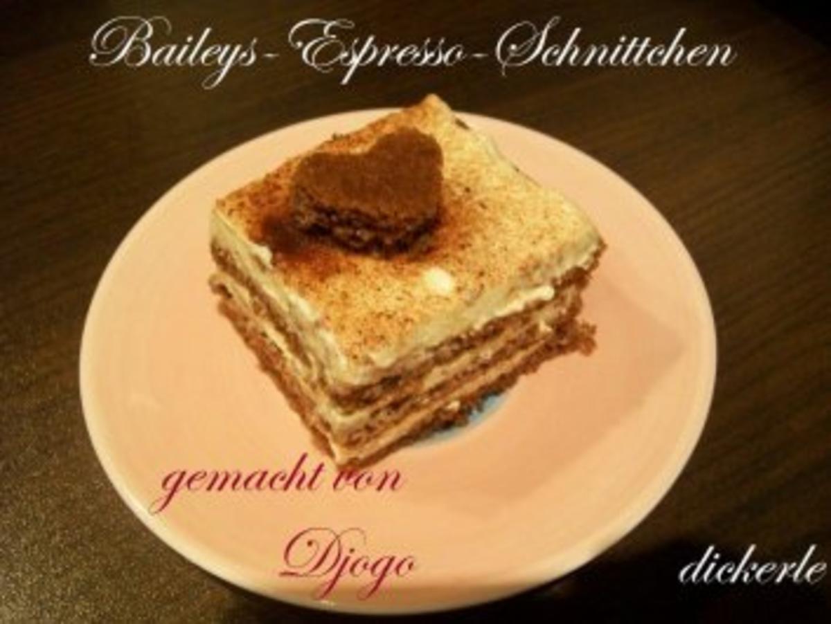 Kuchen + Torten : Baileys-Espresso-Schnittchen - Rezept By dickerle