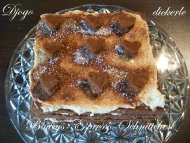 Kuchen + Torten : Baileys-Espresso-Schnittchen - Rezept - Bild Nr. 9