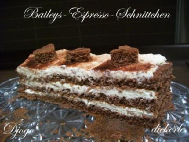Kuchen + Torten : Baileys-Espresso-Schnittchen - Rezept - Bild Nr. 10
