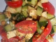tomate-mozarella-salat ala tueni - Rezept