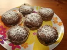 Nougat-Schoko-Muffins - Rezept