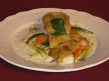Viktoriabarsch mit Kartoffelkruste und feinem Gemüse - Rezept