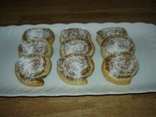 Nuss-Apfel-Schnecken - Rezept