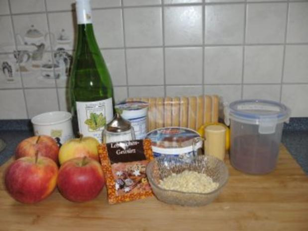 Bratapfel - Tiramisu - Rezept - Bild Nr. 2