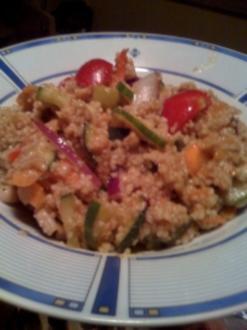 Cous-Cous-Salat - Rezept