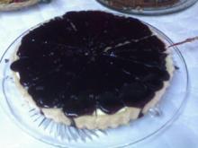 Schneller Heidelbeer-Pudding-Kuchen - Rezept