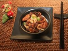 Hähnchen mit Cashewnüssen nach chinesischer Art - Rezept