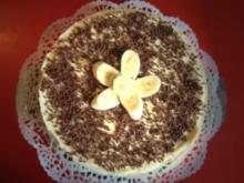 Mannis - Bananen - Torte - Rezept