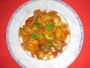 Szegediner mit Weißwürstchen - Rezept