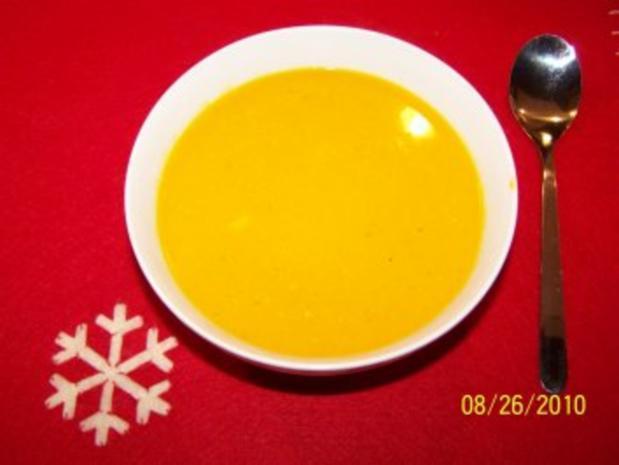 Vegetarische Kürbissuppe - Rezept - Bild Nr. 2