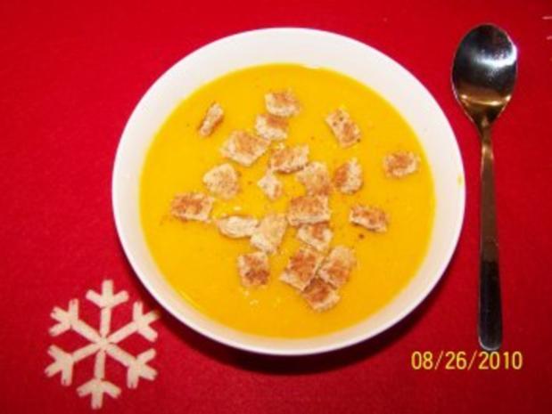 Vegetarische Kürbissuppe - Rezept - Bild Nr. 3