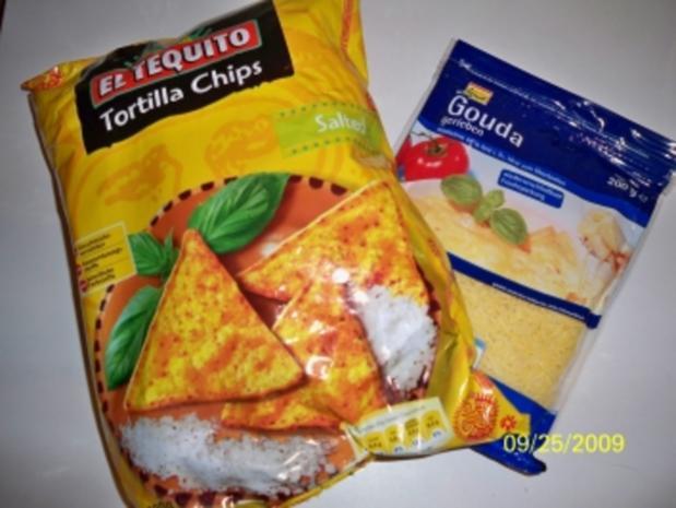 Nachos mit Käse - Rezept