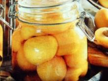 Weinbrand Aprikosen - Rezept